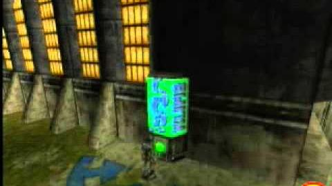 Oddworld Munch's Oddysee - Hidden Beta Vending Machine