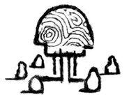 Monsaic symbol concept