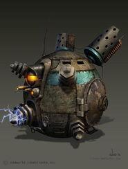 Shock Tank Concept Art