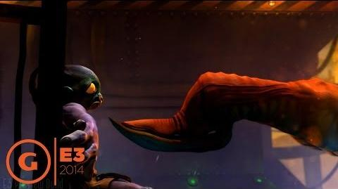 Oddworld New 'n' Tasty Puzzle Gameplay - E3 2014