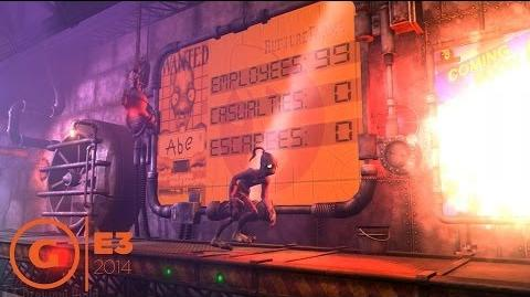 Oddworld New 'n' Tasty Intro Gameplay - E3 2014-0