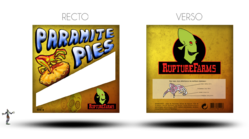 Paramite pies packaging by lunaricecream-d4l3ztt