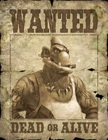 Fatty McBoomBoom Wanted Poster