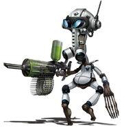 Armored Intern Rendered Art