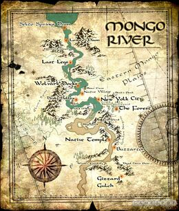 Mongo river but much bigger