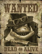 Filthy Hands Flyod Wanted Poster