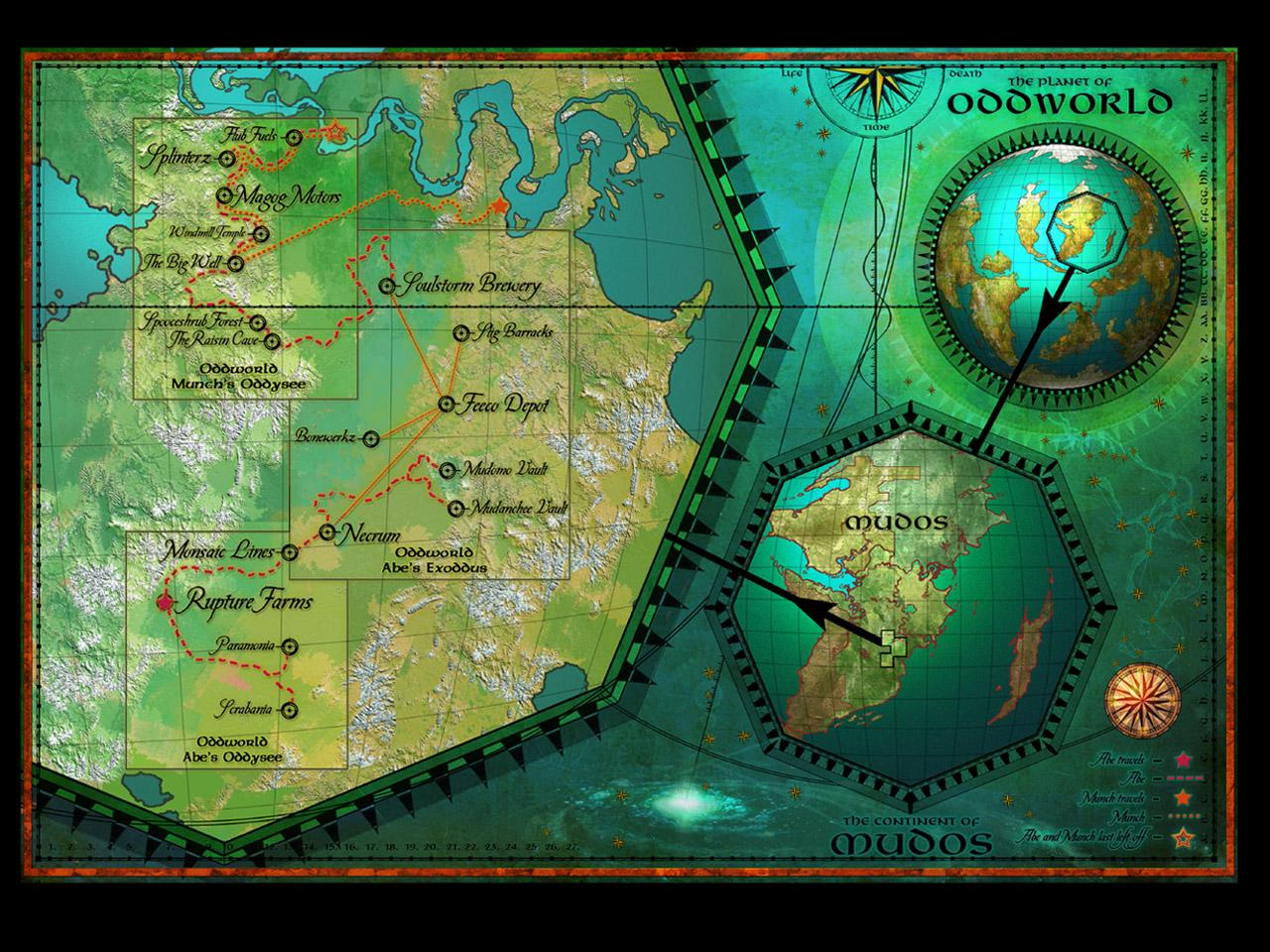 Oddworld | Oddworld | FANDOM powered by Wikia on