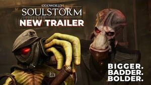 Oddworld Soulstorm NEW TRAILER Bigger, Badder, Bolder (PS5)