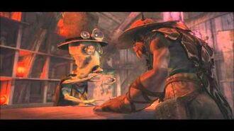 Oddworld Stranger's Wrath (PC version) cutscenes 5 - Vykkers Surgeon's Office