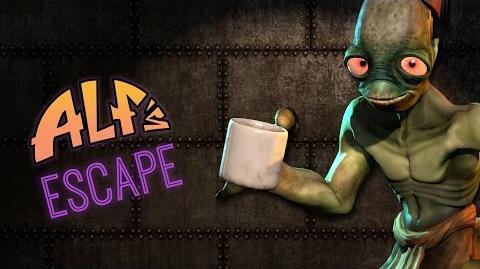 Oddworld New 'n' Tasty - Alf's Escape Gamescom 2014 Trailer