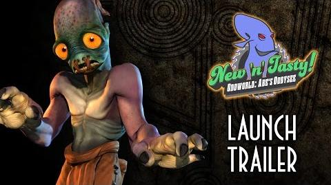 Oddworld New 'n' Tasty - Launch Trailer