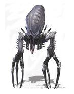 Armored Gloktigi Concept Art