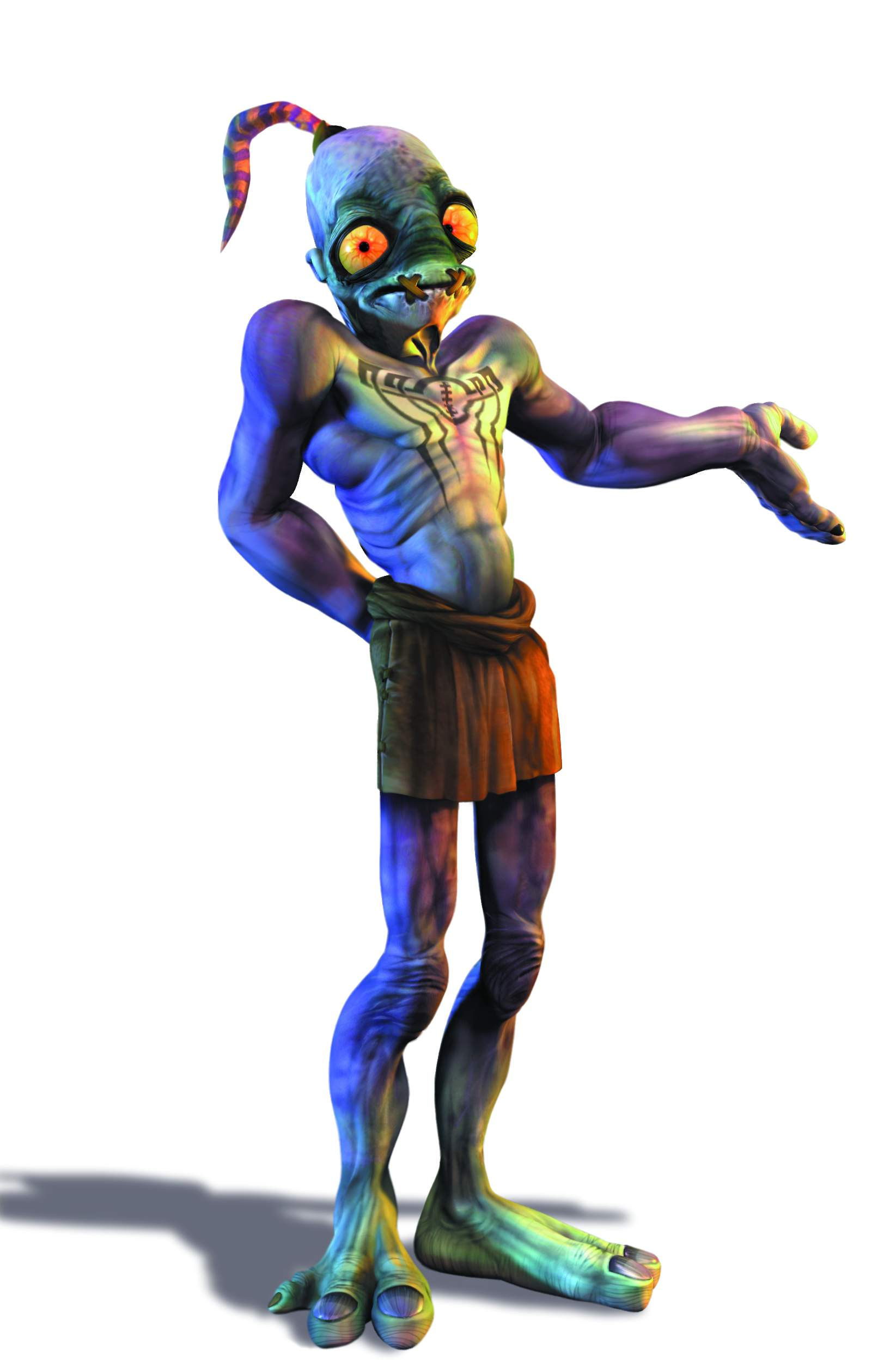 Abe S Oddysee Character Design