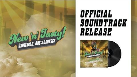 Oddworld New 'n' Tasty Official Soundtrack Pre-order