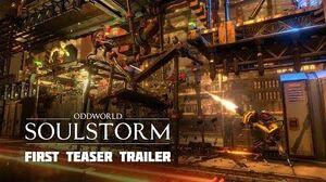 Oddworld Soulstorm first Teaser Trailer featuring Gameplay