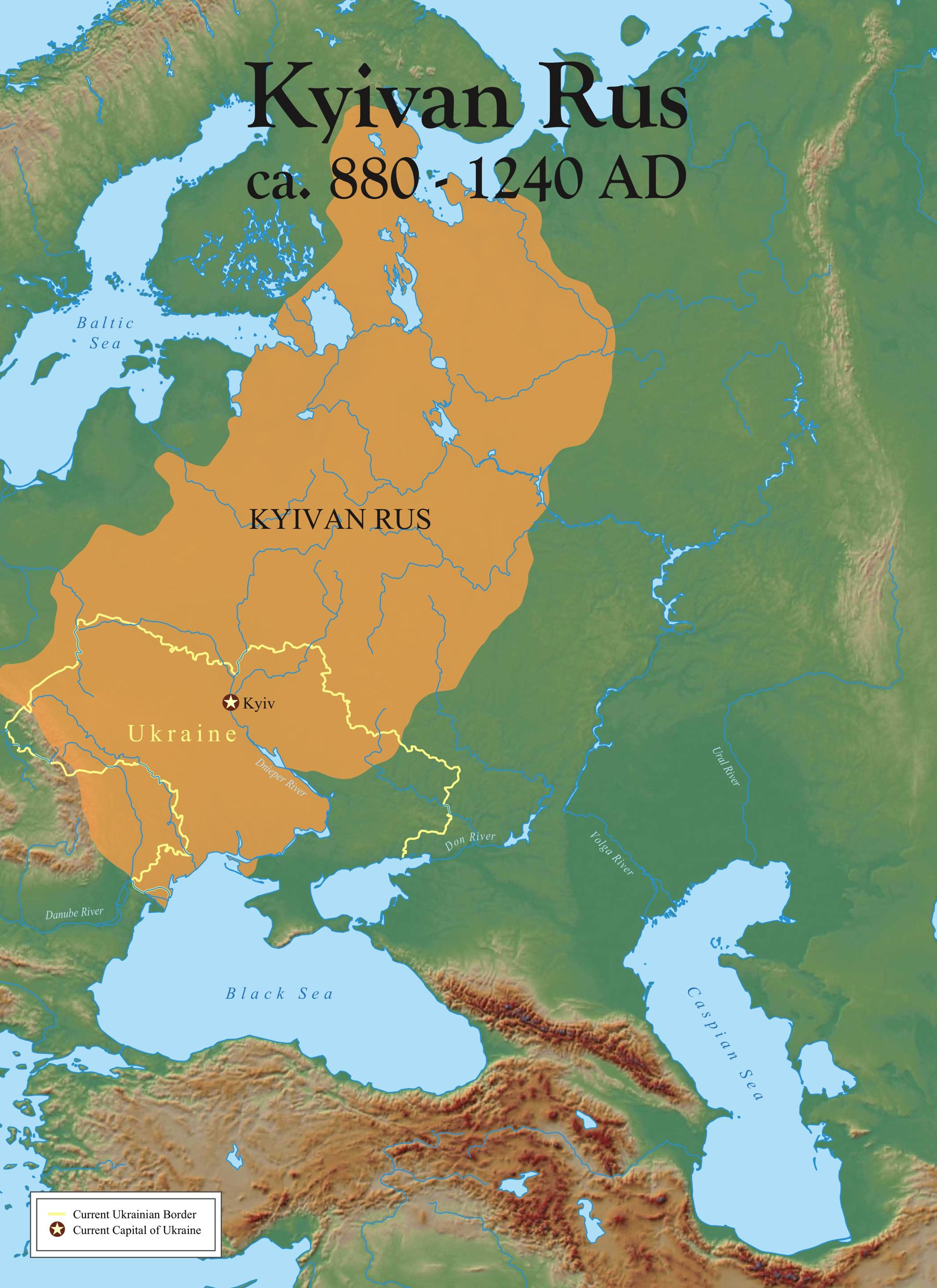 Image KyivianRusMapsmalljpg Odins Ulve Wiki FANDOM - R us map