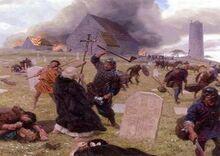 Viking berserkers england