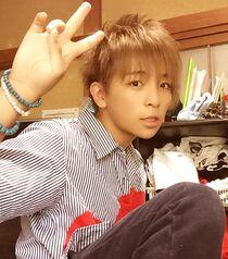 Aoi brown hair