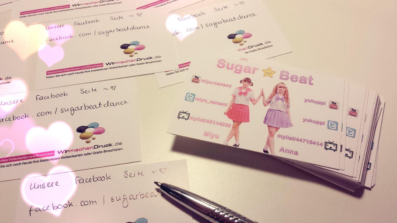 Image - Sugar beat business cards.jpg | Odorite Wiki | FANDOM ...