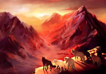 Midgardsorm mountains
