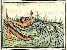 Ahuizotl Drowning
