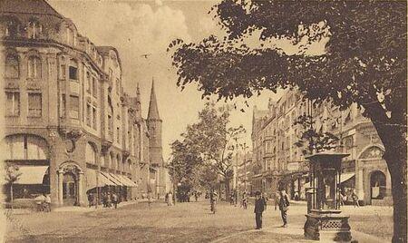 Kaiserstraße Wettersäule