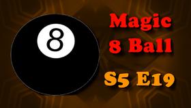Magic 8 ball thumb