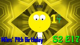 Miles 14 Birthday Thumb