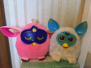 Pixy and furby connect
