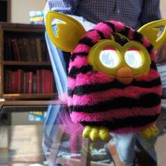 Furby Boom Straight Stripes (3/4 View)