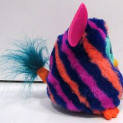 Furby Boom Diagonal Stripes (Right Side View)