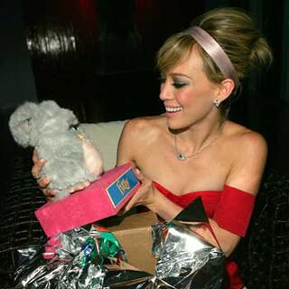 An image of Duff and her Furby from the official Furby website