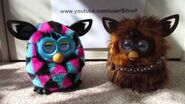 Furbacca interacting with Furby Boom