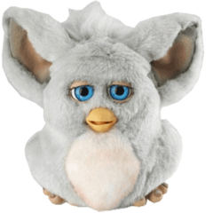a  png image of the Prototype Furby