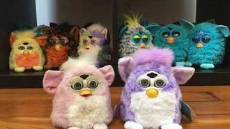 Furby Baby Prototype and Production Line Comparison