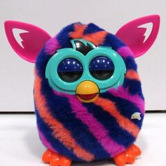 Furby Boom Diagonal Stripes (Front View)