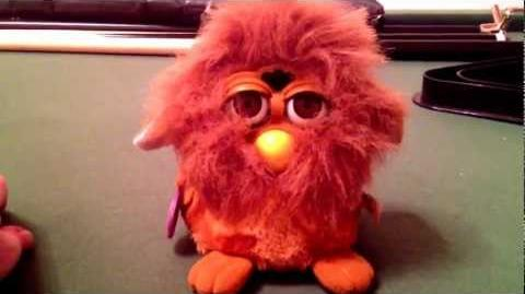 My lion furby! D-0