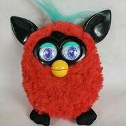 2012-Electronic-Red-Furby-doll-Black-Cherry-black