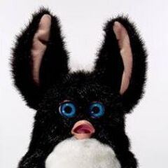 an image of a 2005 Furby prototype