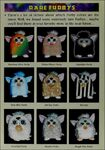 FURBY TRAINERS GUIDE rare ferbys