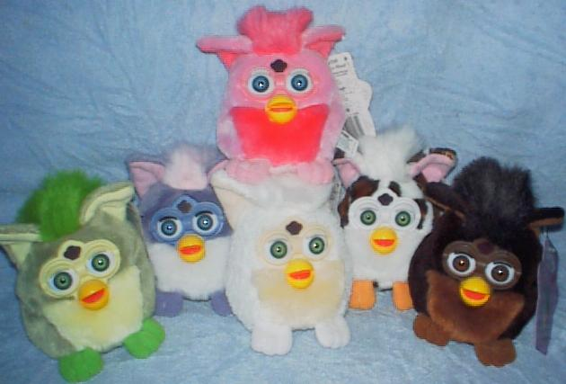 1 Random Furby per Purchase 1999 New w Tag Furby Buddies 70-700 Series Plush