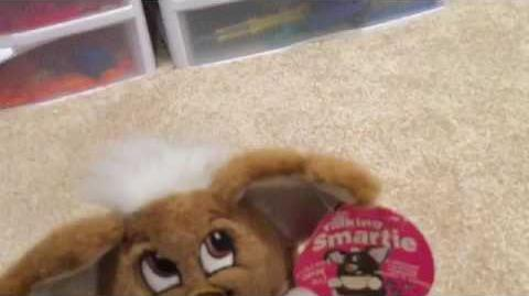 Talking smartie furby fake (First video of talking smartie on YouTube!)