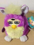Purple and Cream Furby 1998