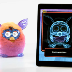 The inside of a Furby Boom in the game.