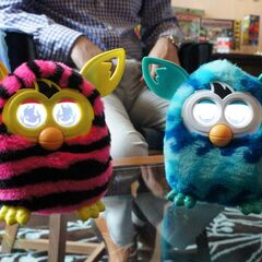 Furby Booms (Straight Stripes & Waves)
