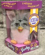 English leopard furby from japan