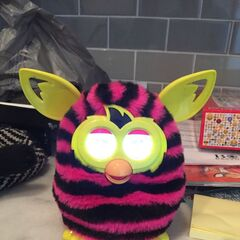 Furby Boom Straight Stripes (Front View)
