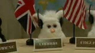 2005 Furby reveal at the United Nations plaza