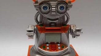 Furby fake Ir-V 2001 - knockoff furby - the first wireless internet - responsive robot