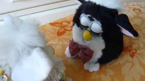 Furby A-may and Furdy